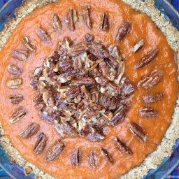 Sweet Potato Pecan Pie (gluten free)