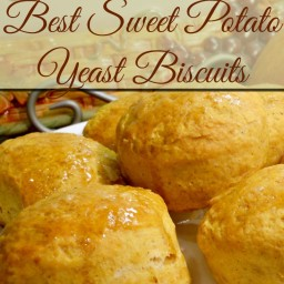 Sweet Potato Yeast Biscuits