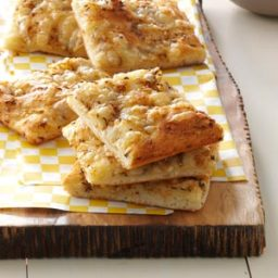Swiss and Caraway Flatbreads Recipe