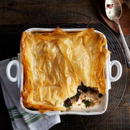 Swiss Chard-and-Lamb Bake