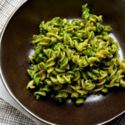 Swiss Chard and Rosemary Pesto Pasta