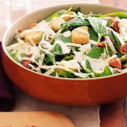 Swiss Spinach Salad Recipe