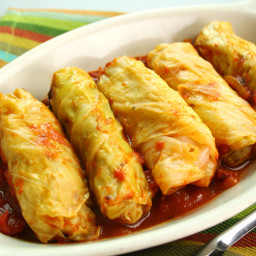 Syrian Cabbage Rolls (Mihshee Malfoof bi Burghul)