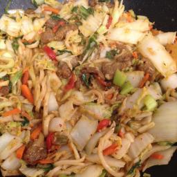 Szechuan Beefless Stir-Fry