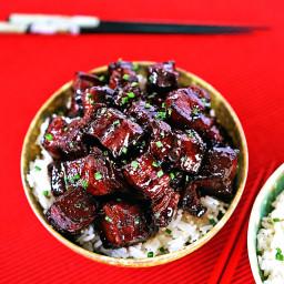 Szechuan Braised Pork Belly