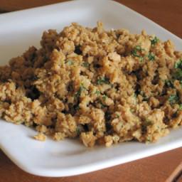 T. V. P. Sausage Crumbles (Vegetarian/Vegan/Gluten-Free)