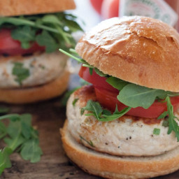 Tabasco Chicken Burgers