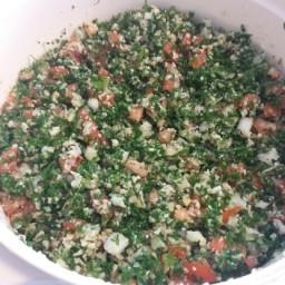 Tabbouli / Tabouli / Tabbouleh Salad (Gluten Free)