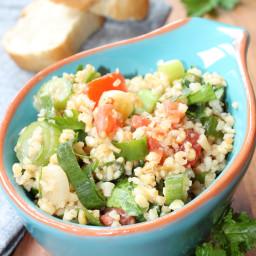 Tabouleh (Burghul/Bulgur and Parsley Salad)