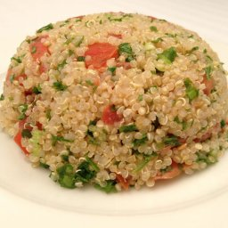 Tabouli Salad, with sprouted or cooked quinoa