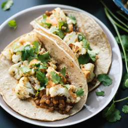 Taco/Burrito: (Cauliflower Tacos)