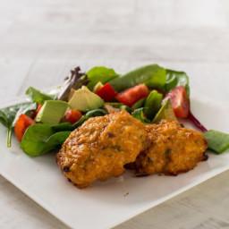 Taco Chicken Hamburgers (from my new KimBeachLife App)