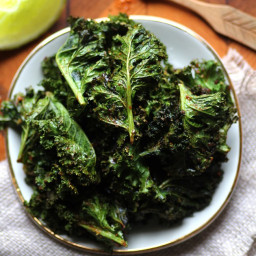 Taco Spiced Kale Chips (Gluten-Free and Vegan)