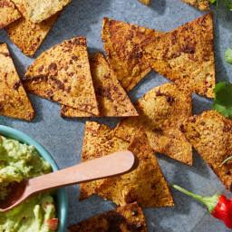 Taco-Spiced Tortilla Chips