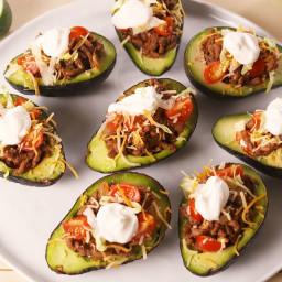 Taco Stuffed Avocados