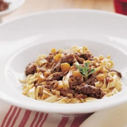 Tagliatelle with Short Rib Ragù