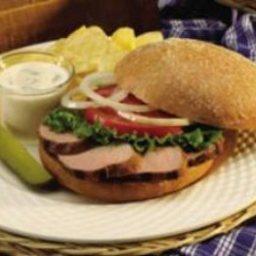 Tailgate Pork Sandwich