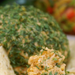 Tailgating Spicy Taco Cheese Ball