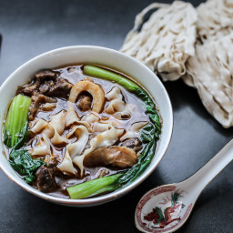 Taiwanese Beef Shank Noodle Soup