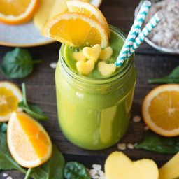 Takes Two to Mango Green Smoothie