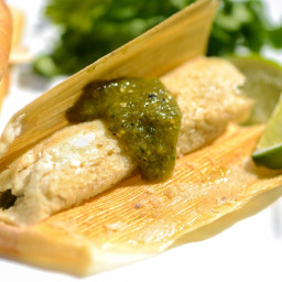 Tamales With Rajas and Oaxacan Cheese Recipe