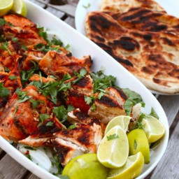 Tandoor-Style Grilled Chickens or Cornish Hens Recipe