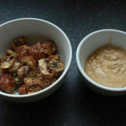 Tandoori Chestnut Mushroom Tikka