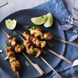 Tandoori chicken party skewers