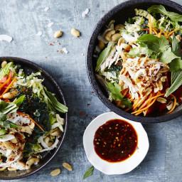 Tangled Thai Chicken Salad