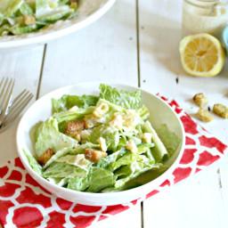 Tangy and Creamy Caesar Salad