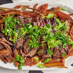 Tangy Brisket With Fennel and Herbs