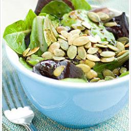 Tangy Pumpkin Seed Salad