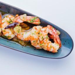 Tangy Shrimp Scampi