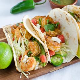 Tangy Shrimp Tacos