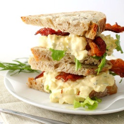 Tarragon and Shallot Egg Salad
