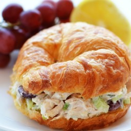 Tarragon Chicken Salad (sandwich)