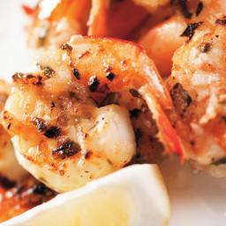 Tarragon Shrimp Scampi