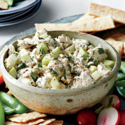 Tart Apple-Hazelnut Chicken Salad