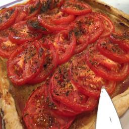 Tart au Tomate e Mutarde a la Provençal
