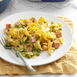Ham and Noodle Dinner