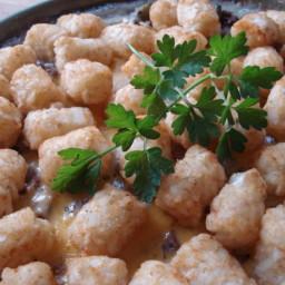 Tater Tot Green Bean Casserole