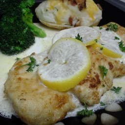 TBC's Chicken in Lemon Butter Cream Sauce