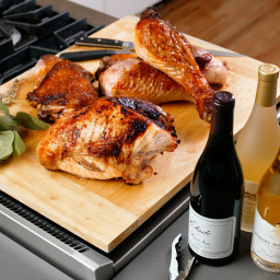 Ted Allen's Deconstructed Holiday Turkey With Sage Gravy