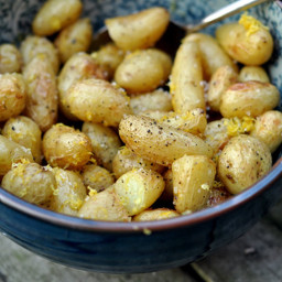 Teeny-Tiny New Potatoes with Lemon