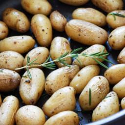 Teeny Tiny Potatoes with Rosemary