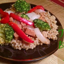 Tempeh Broccoli Sauté