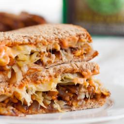 Tempeh Reuben Sandwiches