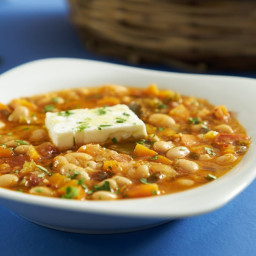 Template for a Classic Greek Bean Soup