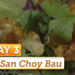 Tempura Chicken San Choy Bau