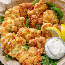 Tender Chicken Fritters